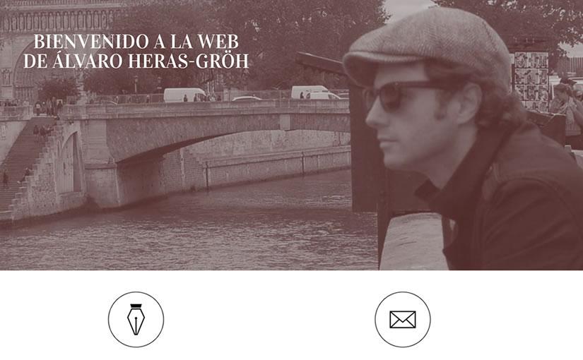 Alvaro Heras personal site